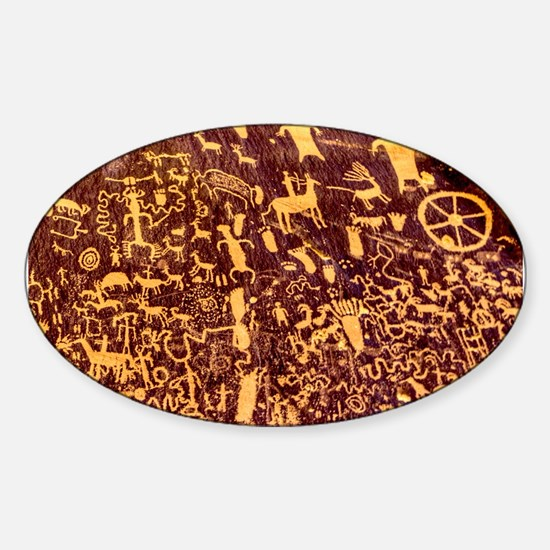Newspaper Rock Petroglyph Ancient Art Decal
