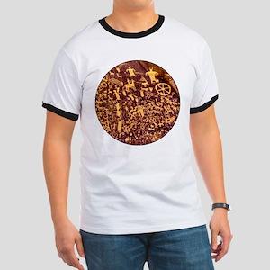Newspaper Rock Petroglyph Ancient Art T-Shirt
