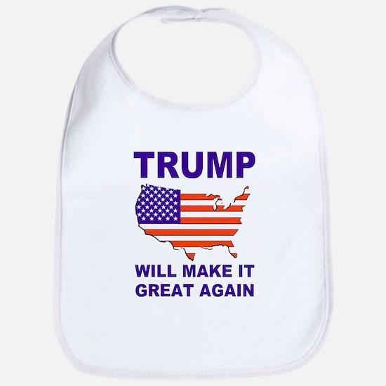 Trump will make it great again Bib