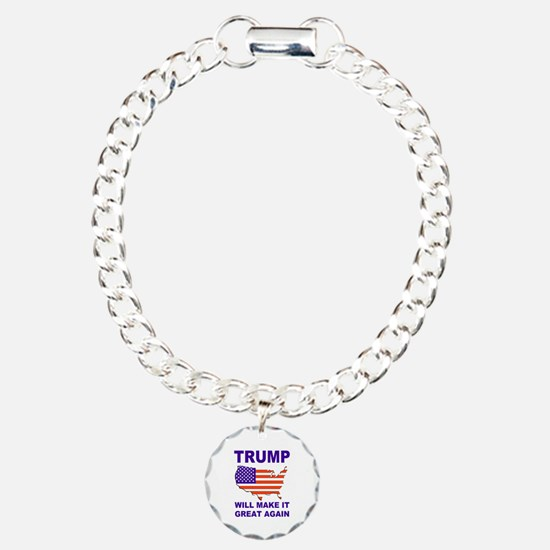 Trump will make it great again Bracelet