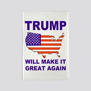 Trump will make it great again Magnets