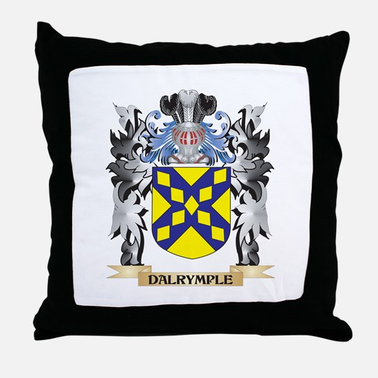 Dalrymple Coat of Arms - Family Crest Throw Pillow