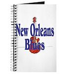 New Orleans Blues Journal Scrapbook