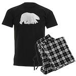 Polar Bear Mom and Babies Pajamas
