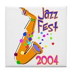 Jazz Fest Tile Coaster