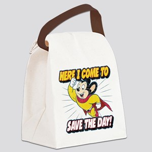 Here I Come To Save The Day Canvas Lunch Bag