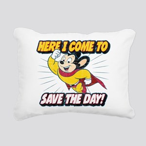 Here I Come To Save The Rectangular Canvas Pillow