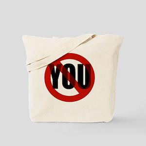 Antisocial - No You Tote Bag