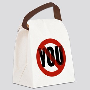 Antisocial - No You Canvas Lunch Bag