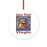 Jazz Fest Virgin Ornament (Round)
