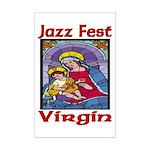 Jazz Fest Virgin Mini Poster Print