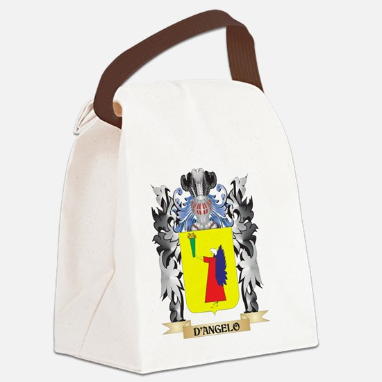 D'Angelo Coat of Arms - Family Cr Canvas Lunch Bag
