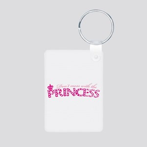 dontmesswithprincess Aluminum Photo Keychain