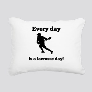 Every Day Is A lacrosse Day Rectangular Canvas Pil