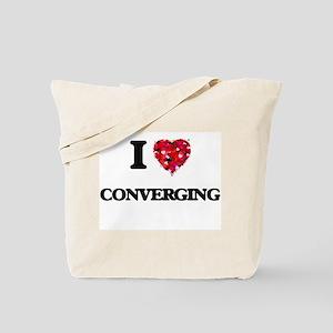 I love Converging Tote Bag