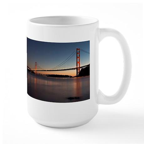 Golden Gate Bridge Large Mug