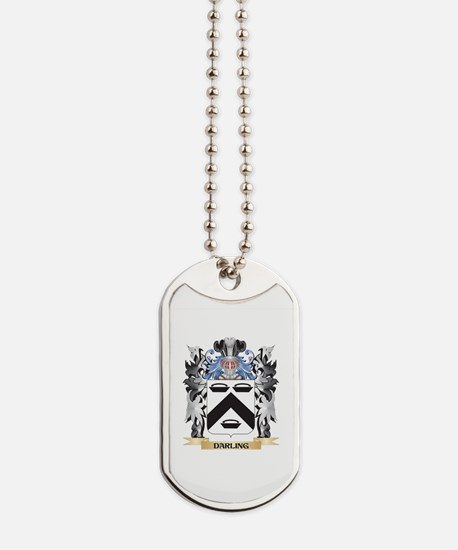 Darling Coat of Arms - Family Crest Dog Tags