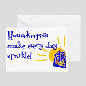 Housekeeper Appreciation Greeting Card