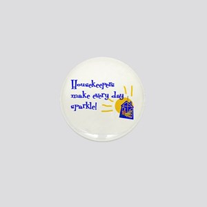 Housekeeper Appreciation Mini Button