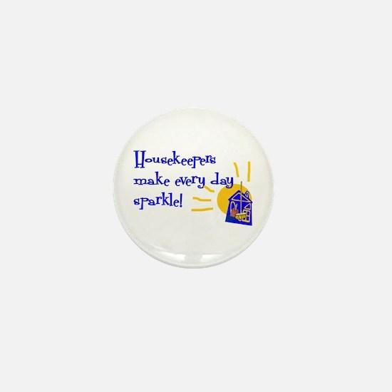 Housekeeper Appreciation Mini Button