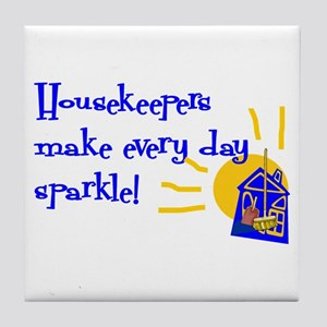 Housekeeper Appreciation Tile Coaster