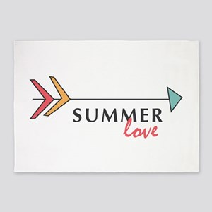 Summer Love 5'x7'Area Rug