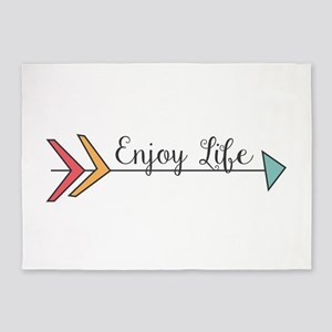 Enjoy Life 5'x7'Area Rug