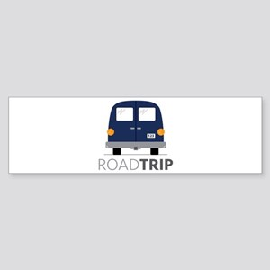 Road Trip Bumper Sticker