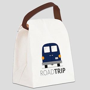 Road Trip Canvas Lunch Bag