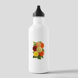 Summer Dahlias Stainless Water Bottle 1.0L