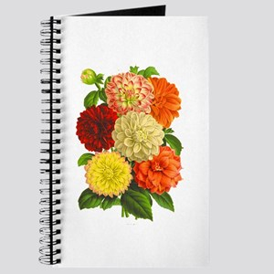 Summer Dahlias Journal