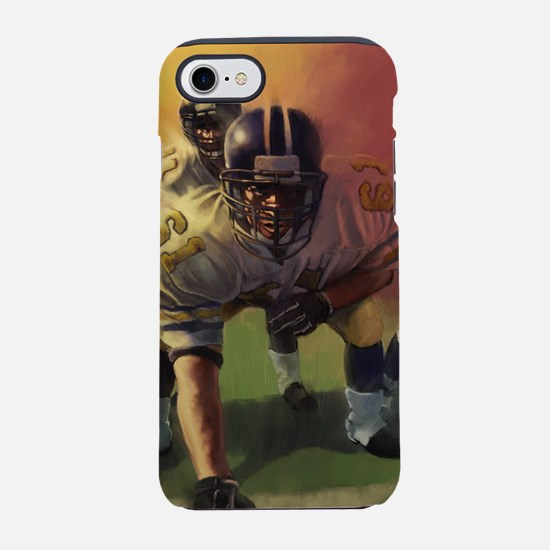 Football Players Painting iPhone 8/7 Tough Case
