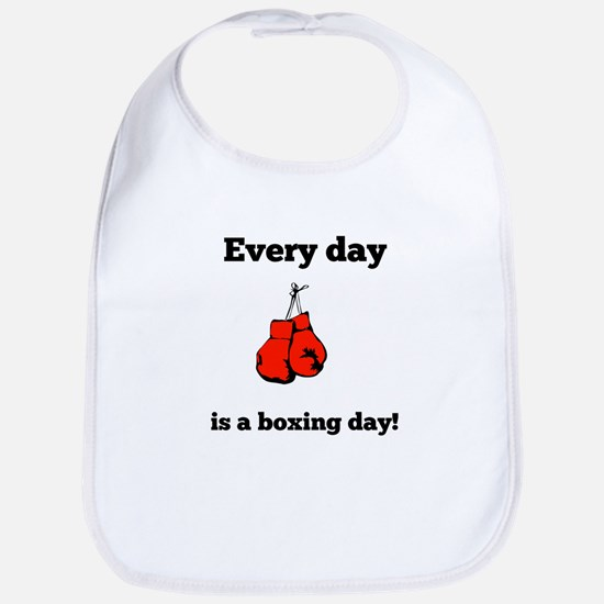 Every Day Is A Boxing Day Bib