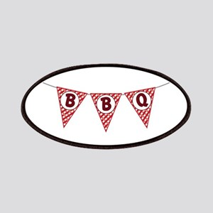 BBQ Gingham Flags Patch