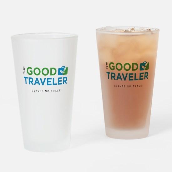The Good Traveler Logo Drinking Glass