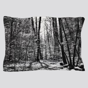 Black and White Forest Pillow Case