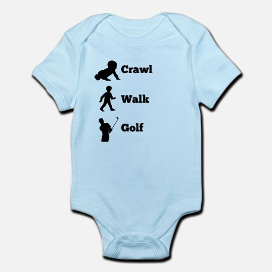 Crawl Walk Golf Body Suit