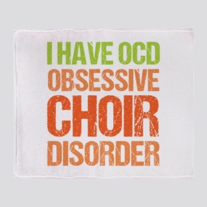 OCD Choir Throw Blanket