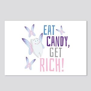 Get Rich Postcards (Package of 8)