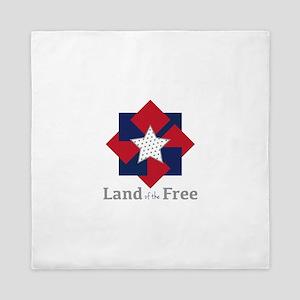 Land Of The Free Queen Duvet