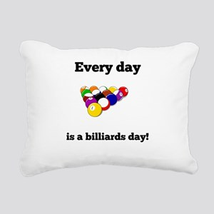 Every Day Is A Billiards Day Rectangular Canvas Pi