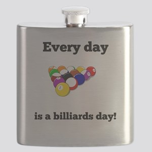 Every Day Is A Billiards Day Flask
