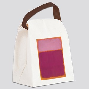 ROTHKO PINK RASBERRY AND ORANGE Canvas Lunch Bag