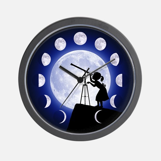 Astronomy Wall Clock