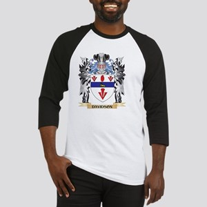 Davidson Coat of Arms - Family Cre Baseball Jersey