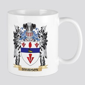 Davidson Coat of Arms - Family Crest Mugs