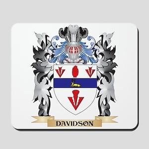 Davidson Coat of Arms - Family Crest Mousepad