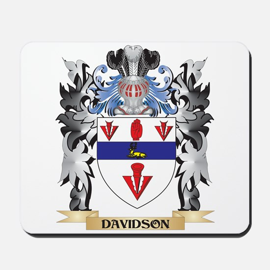 Davidson Coat of Arms - Family Crest Mousepad