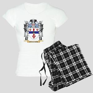 Davidson Coat of Arms - Fam Women's Light Pajamas