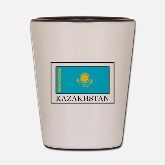 Kazakhstan Shot Glass
